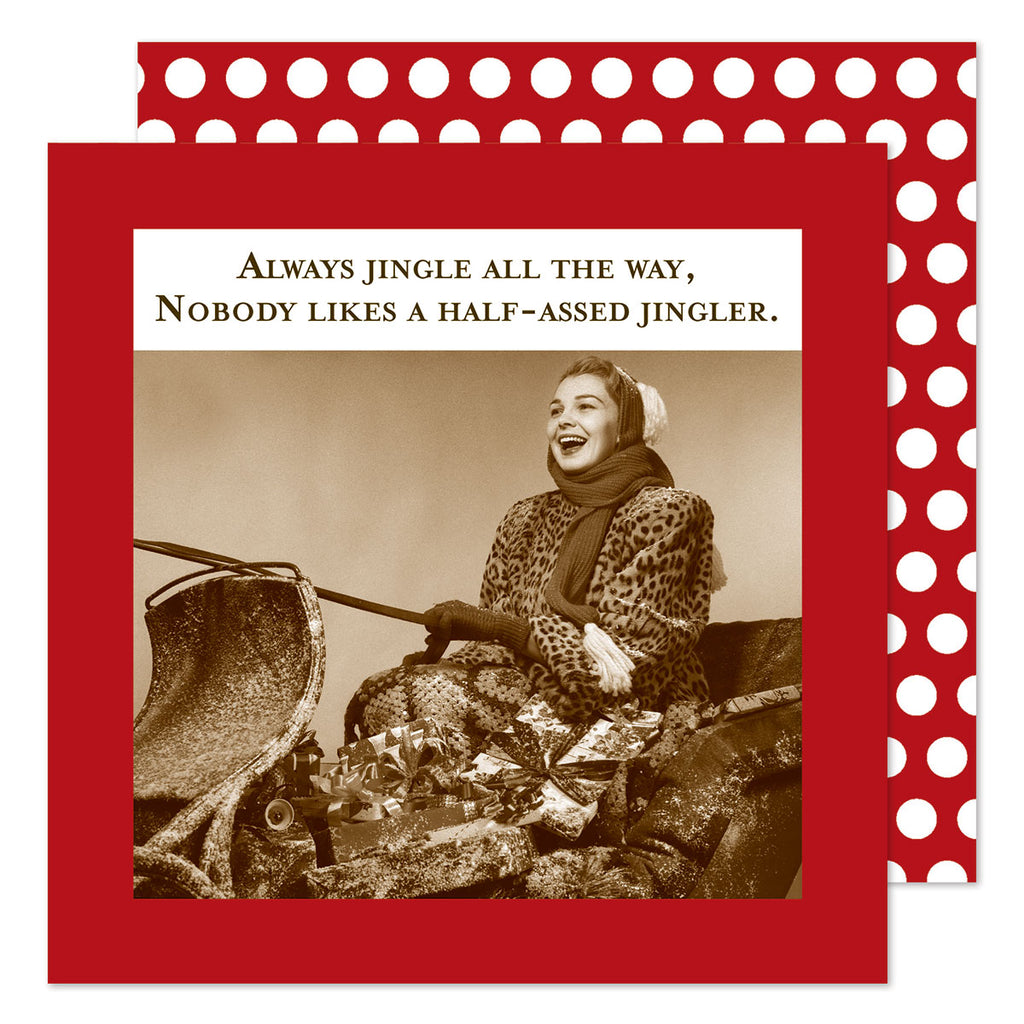 Jingle All The Way - Beverage Napkins