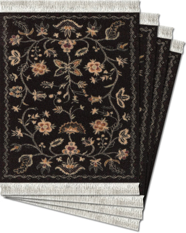 Somerset, Colonial Williamsburg Foundation Licensed Ð 4-pc CoasterRug¨ Set - MouseRug - Jules Enchanting Gifts