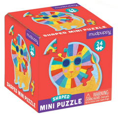 Rainbow Lion Shaped Mini Puzzle