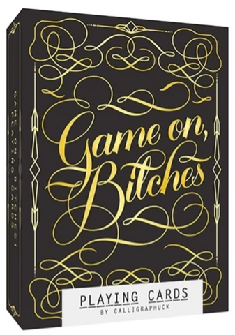 Game On, B*tches Playing Cards