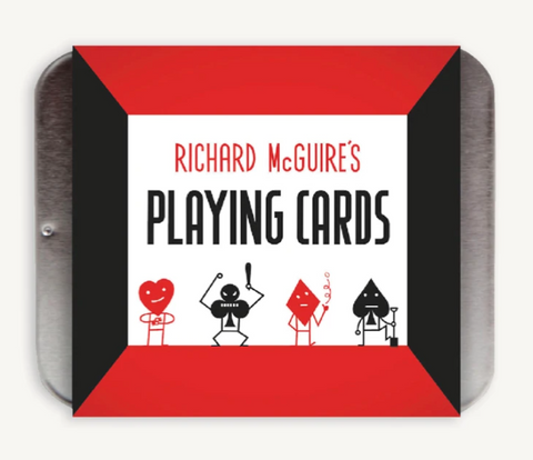 Richard McGuire's Playing Cards