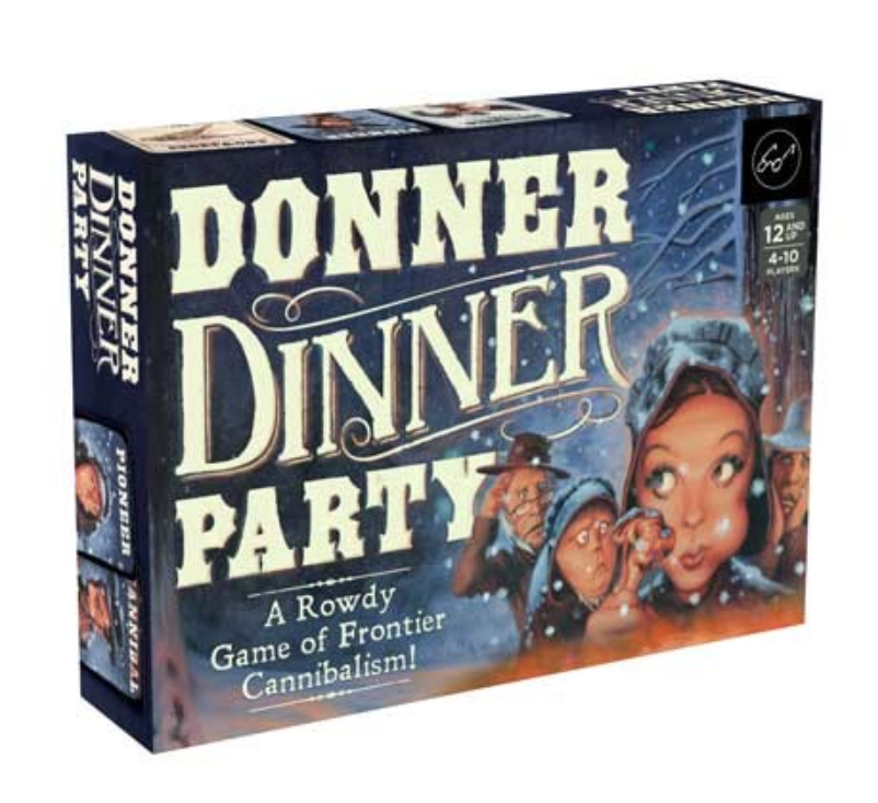 Donner Dinner Party - A Rowdy Game of Frontier Cannibalism