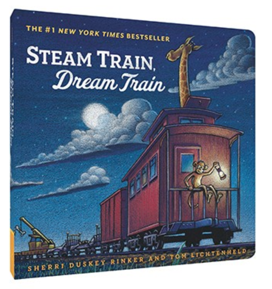 Steam Train, Dream Train - Board Book