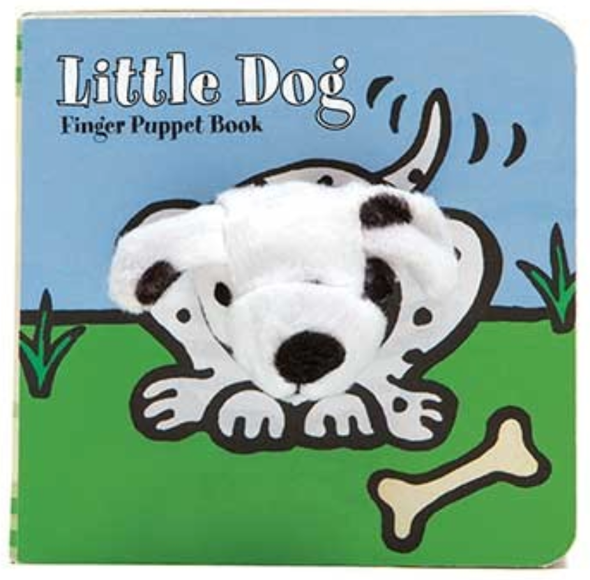 Little Dog: Finger Puppet Book