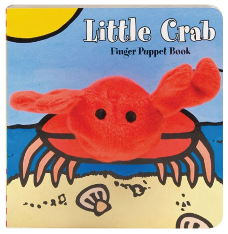 Little Crab: Finger Puppet Book
