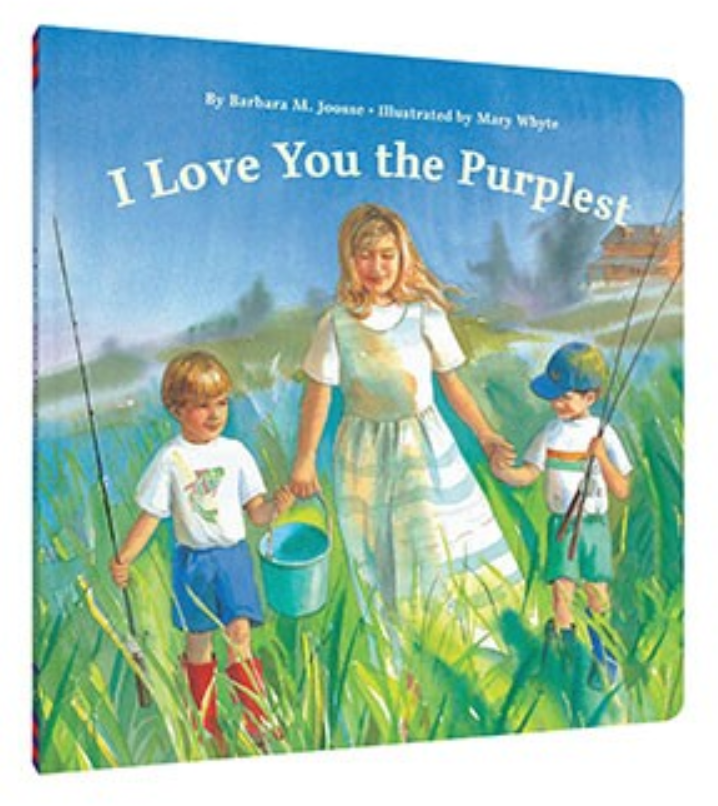 I Love You the Purplest – Board Book