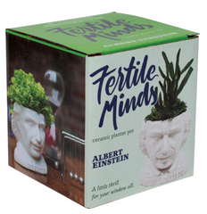 Albert Einstein Planter - Fertile Minds