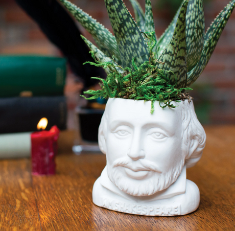 William Shakespeare Planter - Fertile Minds