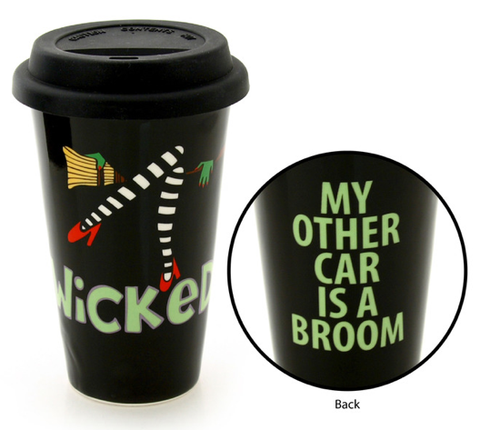 Travel Mug - Wicked - Our Name is Mud - Jules Enchanting Gifts