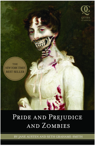 Pride and Prejudice and Zombies - Random House - Jules Enchanting Gifts