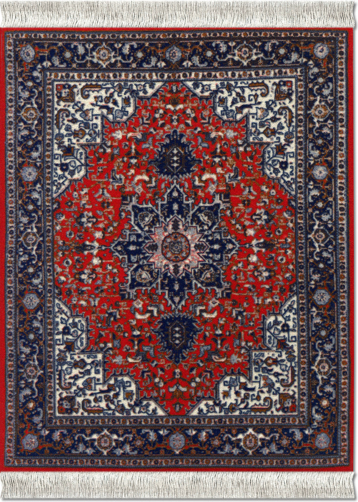 Tabriz Heriz MouseRug® & CoasterRug® Set - MouseRug - Jules Enchanting Gifts
