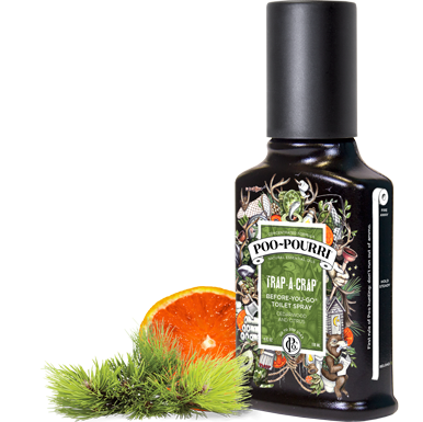Poo Pourri - Trap-A-Crap 4oz Bottle - Poo-Pourri - Jules Enchanting Gifts