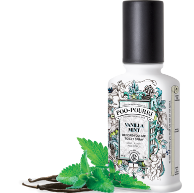 Poo Pourri - Vanilla Mint 2oz Bottle - Poo-Pourri - Jules Enchanting Gifts