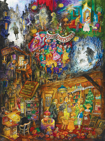 Puzzle - A Christmas Carol 1000 Pieces - SunsOut - Jules Enchanting Gifts