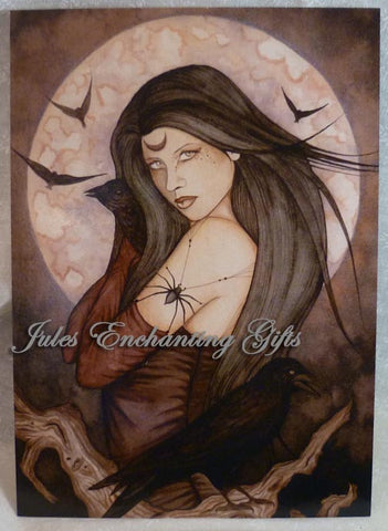 All Hallows Eve - 5 x 7 Fairy Art Print - Munro Gifts - Jules Enchanting Gifts