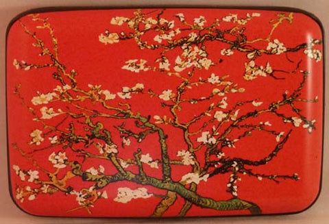 Wallet Fine Art #4 - Almond Tree (Red) - Fig Design - Jules Enchanting Gifts - 1
