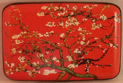 Wallet Fine Art #4 - Almond Tree (Red) - Fig Design - Jules Enchanting Gifts