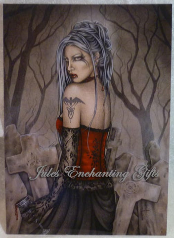 Ancient One - 5 x 7 Fairy Art Print - Munro Gifts - Jules Enchanting Gifts