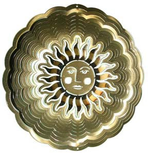 Eycatcher - Small Sun Face Antique Gold - Next Innovations - Jules Enchanting Gifts