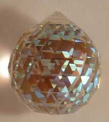Double Faceted Ball 20mm Aurora Borealis - Crystals - Jules Enchanting Gifts