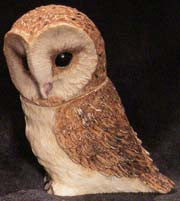 Barn Owl - Harmony Ball - Jules Enchanting Gifts