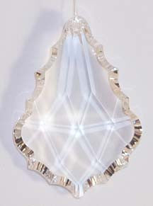Baroque 50mm AQ Lead Free Clear - Crystals - Jules Enchanting Gifts