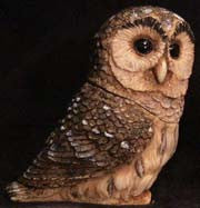 Barred Owl - Harmony Ball - Jules Enchanting Gifts