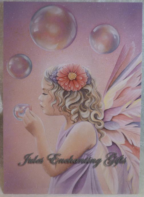 Believe - 5 x 7 Fairy Art Print - Munro Gifts - Jules Enchanting Gifts