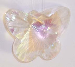 Mamoth Butterfly Aurora Borialis 50mm - Crystals - Jules Enchanting Gifts
