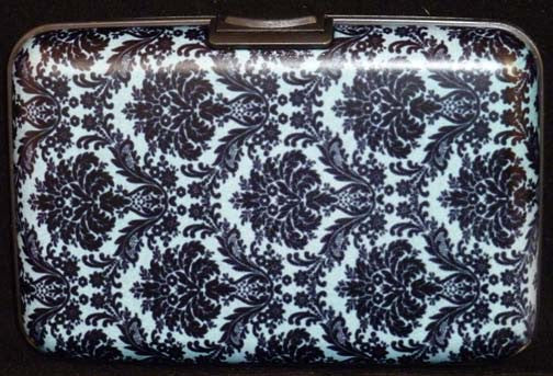 Wallet Damask - Blue - Fig Design - Jules Enchanting Gifts