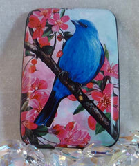 Wallet Wild Birds - Bluebird - Fig Design - Jules Enchanting Gifts