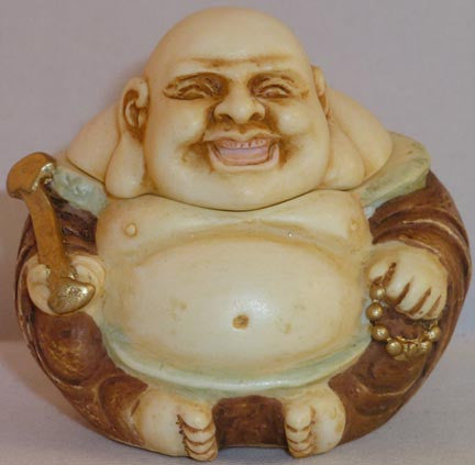 Buddha Laughing - Harmony Ball - Jules Enchanting Gifts