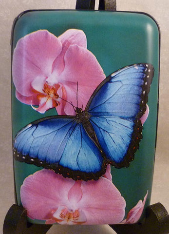 Wallet - Butterflies Blue