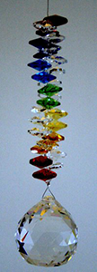 Chakra Crystal with 40 mm ball - Oh My Gosh Josh - Jules Enchanting Gifts