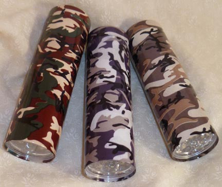 Flashlight - Camouflage Assorted Patterns - Fig Design - Jules Enchanting Gifts