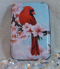 Wallet Wild Birds - Cardinal - Fig Design - Jules Enchanting Gifts
