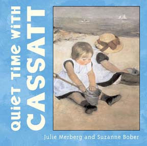 Quiet time with Cassatt Board Book - Hachette Book Group - Jules Enchanting Gifts