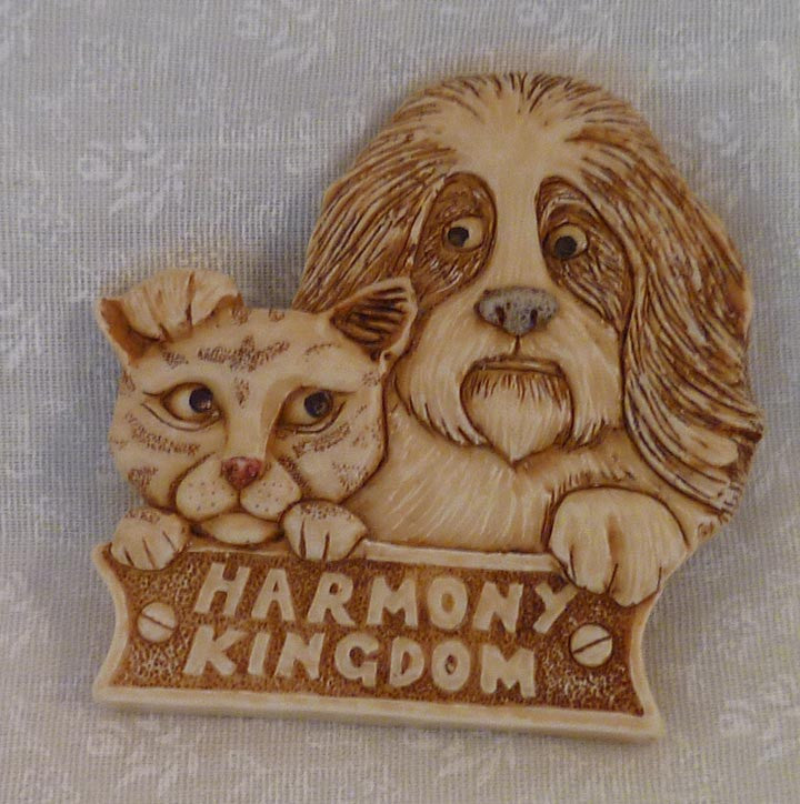 Cat and Dog Pin
