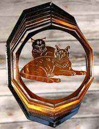 Eycatcher - Small Cat Pair - Next Innovations - Jules Enchanting Gifts