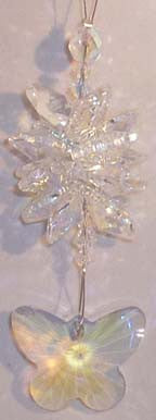 AB Butterfly Crystal Cluster - Oh My Gosh Josh - Jules Enchanting Gifts