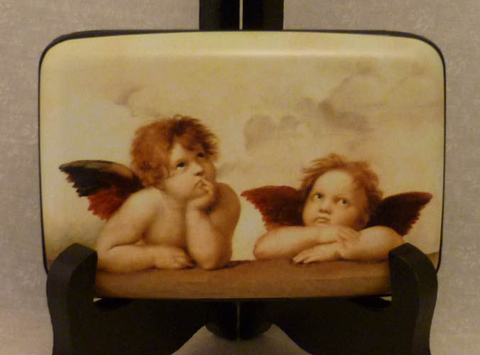 Wallet Fine Art Icons - Cherubs - Fig Design - Jules Enchanting Gifts - 1