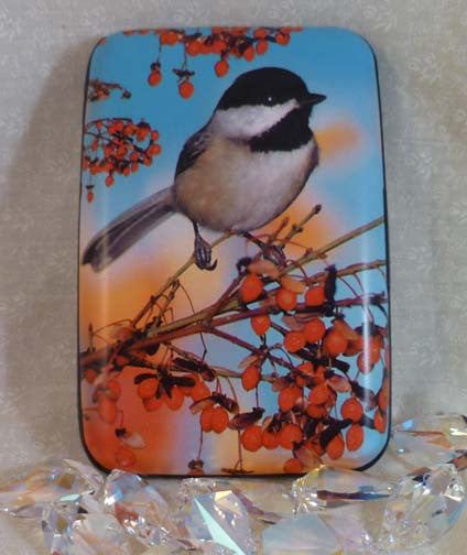 Wallet Wild Birds - Chickadee - Fig Design - Jules Enchanting Gifts