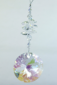 Crystal Cluster with 45mm AB Starflower - Oh My Gosh Josh - Jules Enchanting Gifts