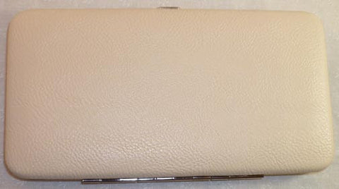 Wallet Deluxe Leather - Cream - Fig Design - Jules Enchanting Gifts