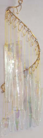 Light Opera Wind Chime - Crystal Iridescent Large - Winter Garden Gallery - Jules Enchanting Gifts - 1