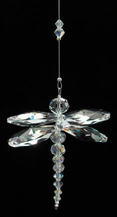 Crystal Dragonfly Clear - Oh My Gosh Josh - Jules Enchanting Gifts