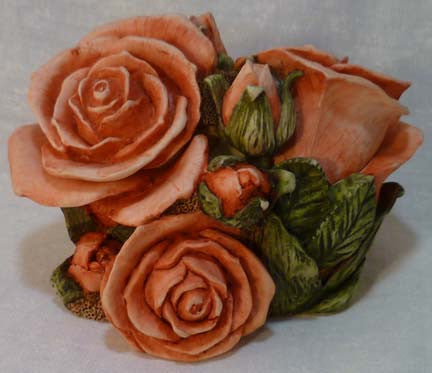 Double Pink Rose - Harmony Kingdom - Jules Enchanting Gifts