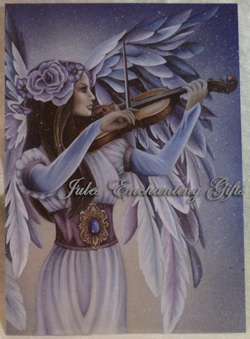 Divine Melody - 5 x 7 Fairy Art Print - Munro Gifts - Jules Enchanting Gifts