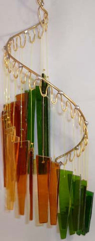 Light Opera Wind Chime - Earth Medium - Winter Garden Gallery - Jules Enchanting Gifts