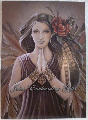 Earth Angel - 5 x 7 Fairy Art Print - Munro Gifts - Jules Enchanting Gifts